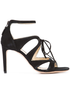 lace-up stiletto sandals  Chloe Gosselin