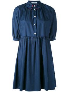 платье с воротником в виде рук Vivetta