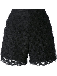textured wave shorts Federica Tosi