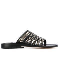 studded sandals Calleen Cordero