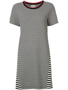 платье-футболка в полоску Grey Jason Wu