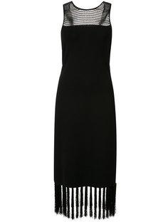 платье с кисточками на подоле Grey Jason Wu