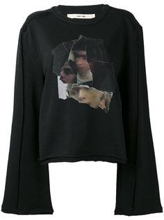 collage print sweatshirt Damir Doma