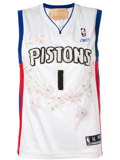 Pistons embroidered NBA tank Night Market