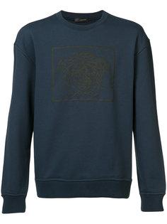 Medusa print sweatshirt Versace