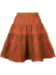 metallic trim knit skirt Sophie Theallet
