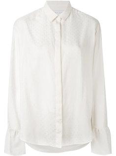 блузка с мелким узором и пышными манжетами Iro