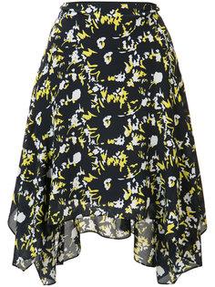 юбка с цветочным принтом Grey Jason Wu