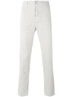 woven stripe trousers  Transit
