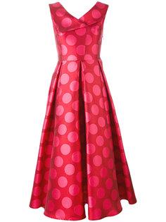 расклешенное платье миди Ultràchic