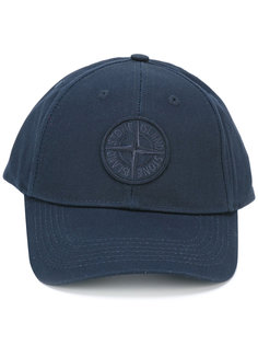бейсбольная кепка с логотипом Stone Island
