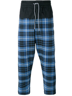 plaid cropped trousers Vivienne Westwood Anglomania