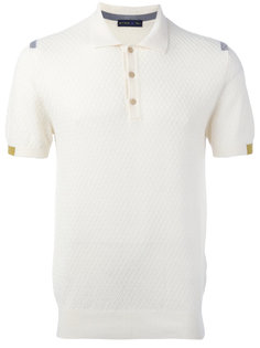 текстурированная рубашка-поло Etro