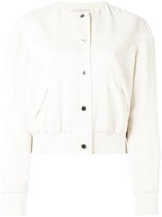 поплиновая рубашка без рукавов Christopher Kane