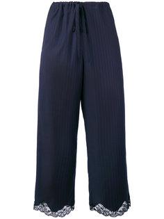 укороченные брюки Alexander Wang