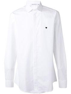 рубашка с маленькой отделкой-сердцем Neil Barrett
