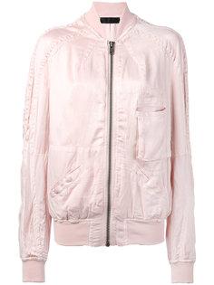 куртка-бомбер с накладными карманами Haider Ackermann