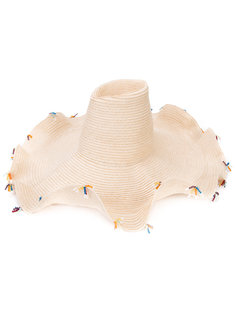 Шляпа с декором из кристаллов Rosie Assoulin