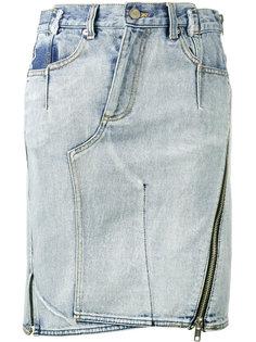 асимметричная джинсовая юбка  3.1 Phillip Lim