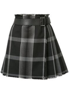короткая юбка-килт Alexander McQueen