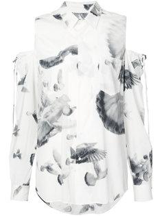 рубашка с открытыми плечами A.F.Vandevorst