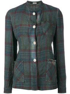 клетчатая куртка-рубашка Massimo Alba