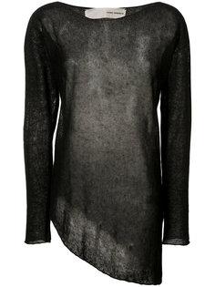асимметричный свитер Isabel Benenato