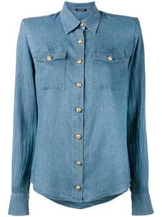 классическая рубашка на пуговицах Balmain