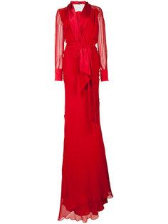 вечернее платье с поясом Sophie Theallet