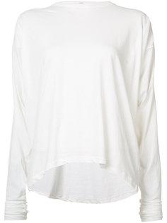 блуза с удлиненными рукавами Isabel Benenato
