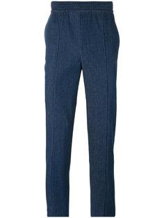 брюки скинни с завышенной талией Neil Barrett