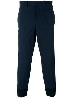 классические брюки с заниженной проймой Neil Barrett