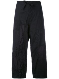 брюки в стиле пэчворк Ys Y`s