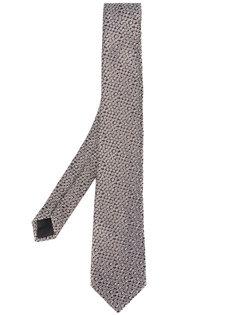 галстук с узором в горох Lanvin