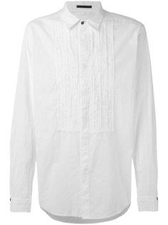 рубашка с плиссировкой The Viridi-Anne