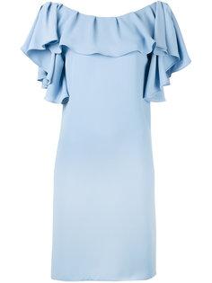 платье с оборками P.A.R.O.S.H.