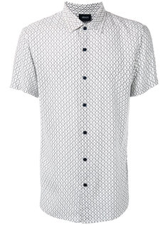 рубашка с короткими рукавами и узором Armani Jeans
