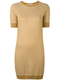 sparkle gingham knit dress Bella Freud