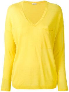 свитер с V-образным вырезом P.A.R.O.S.H.