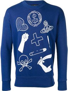 icon print sweatshirt Vivienne Westwood Anglomania