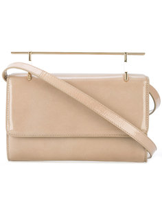 metallic handle crossbody bag  M2malletier