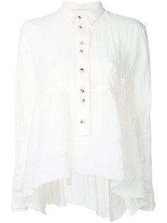 frayed hem blouse Aleksandr Manamïs