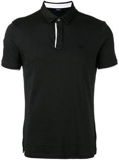 футболка-поло с контрастной окантовкой Armani Jeans