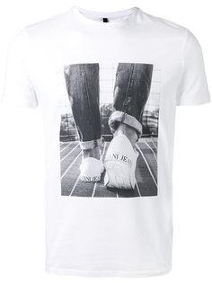 футболка с фото-принтом Armani Jeans