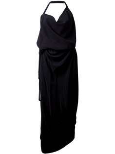 asymmetric draped dress Vivienne Westwood