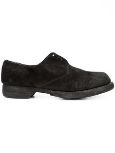 chunky derby shoes Guidi