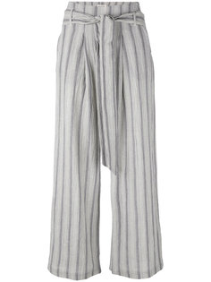 striped cropped trousers Masscob