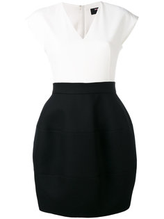 contrast sleeveless dress Paule Ka
