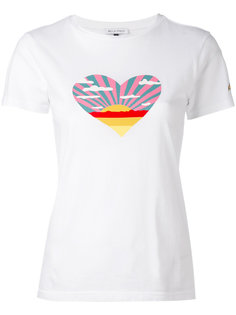 sunset heart T-shirt Bella Freud
