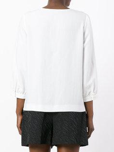 блузка с оборками спереди A.P.C.